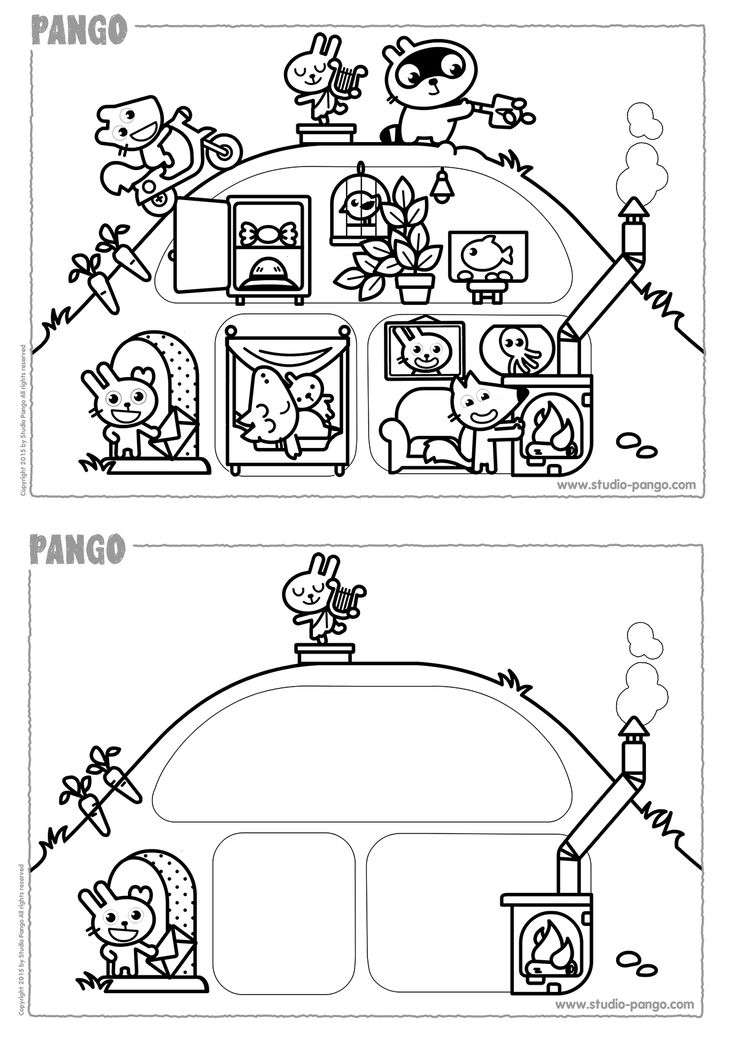 80 best Pango printable activities for kids images on