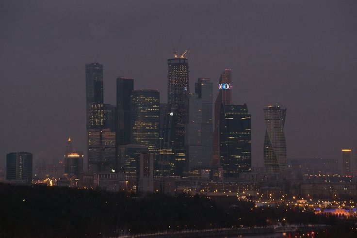 Moscow-city by Victor Yastrebov on 500px
