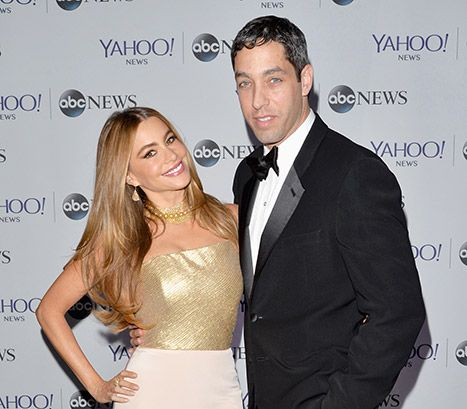 "Sofia Vergara and Nick Loeb.  Sofia Vergara's ex-fiance Nick Loeb couldn't be happier for Vergara and Joe Manganiello.  The couple Sofia and Joe became engaged on Monday, December 29th.  Loeb told US Weekly exclusively the ""Modern Family"" star ""deserves happiness."""