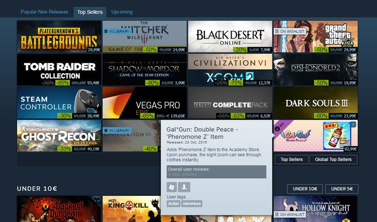 My fellow Steam users - you are scaring me