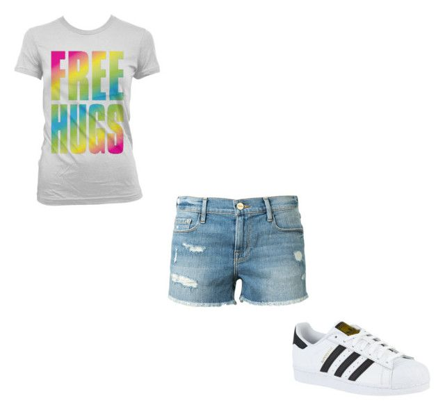 """#398"" by aureeliet on Polyvore featuring Frame and adidas"