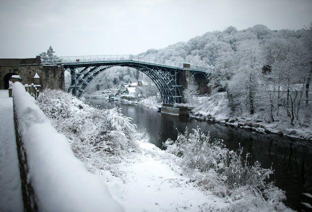 Ironbridge, Shropshire, England.