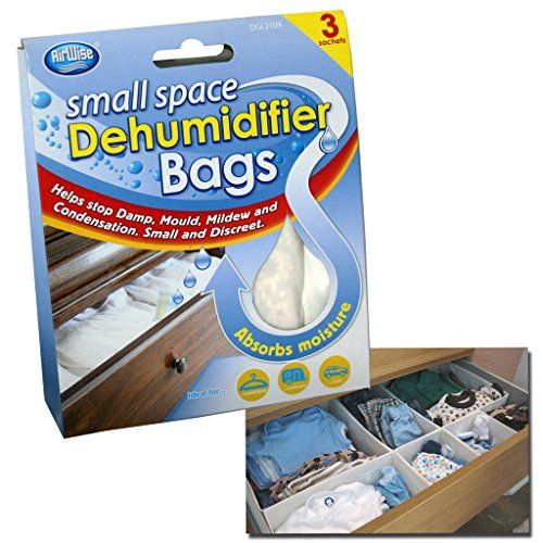 ONE INTERIOR DEHUMIDIFIER BAGS MOISTURE ABSORBER DAMP MOULD CLOTHES DRAWER WARDROBE
