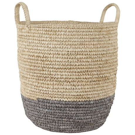 Bright Band 2 Handle Basket Small | Freedom Furniture and Homewares