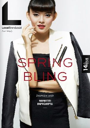 LocalBrand.co.id e-Magazine Cover | 14th edition | Sonia Eryka | Spring Bling Issue all wardrobe by LocalBrand.co.id Click issuu.com/... for read the e-Magazine #LocalBrandID How to buy? Visit www.localbrand.co.id Line : localbrandid SMS/WA : +62858 3015 3333 BBM : 7436815A BB channel : LocalBrand.co.id