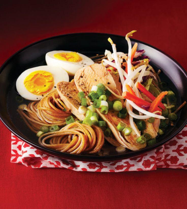 Low-Calorie Ramen Recipe - Clean Eating Magazine
