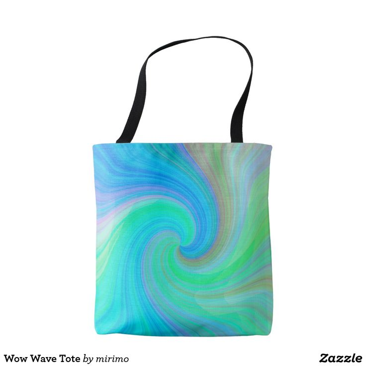 Wow Wave Tote
