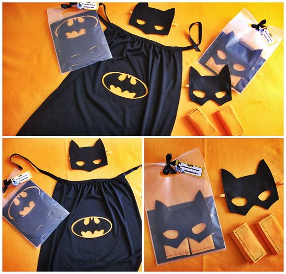 Lembrancinha Batman ou BatGirl