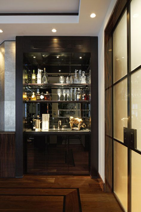 Bar- Davies Street Project - Casa Forma, London