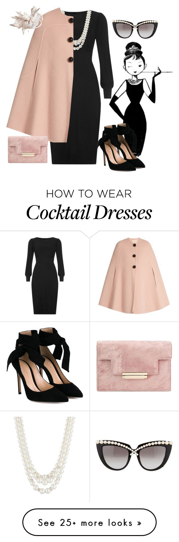 """Tiffany's Chic"" by emma-m-ewert on Polyvore featuring Anne Klein, Roksanda, Gianvito Rossi and Anna-Karin Karlsson"