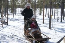 Want to volunteer in the snow on husky trails in Finland? - workaway.info