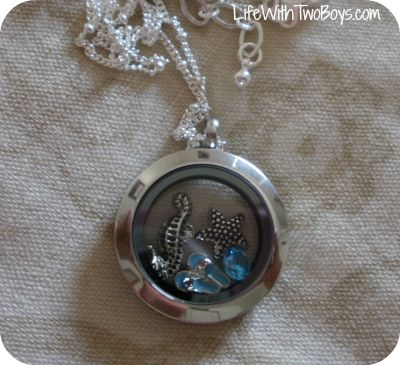 pics of origami owl necklaces | Life With Two Boys: Origami Owl Custom Jewelry Review and Giveaway
