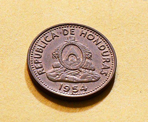 Coin: 1954 Hn H0005 Honduras Centavo Vintage De Po-01