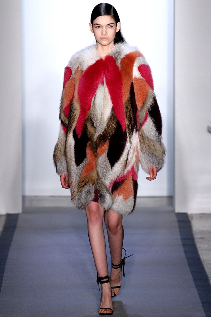 Peter Som Fall 2012 Ready-to-Wear Fashion Show - Isabella Melo