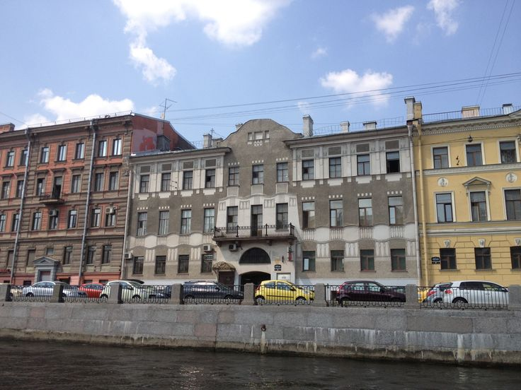 Saint Petersburg, view from the water
