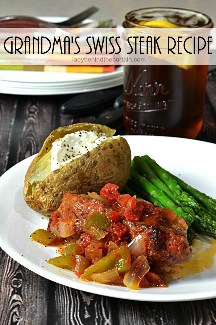 Grandma's Swiss Steak | Recipe | Swiss steak, Swiss steak ...