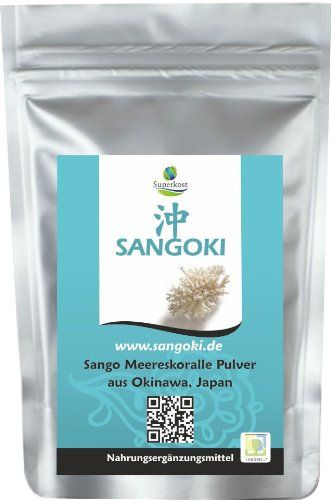 100g Sango Meereskoralle Pulver original aus Okinawa AKTIONSPREIS!