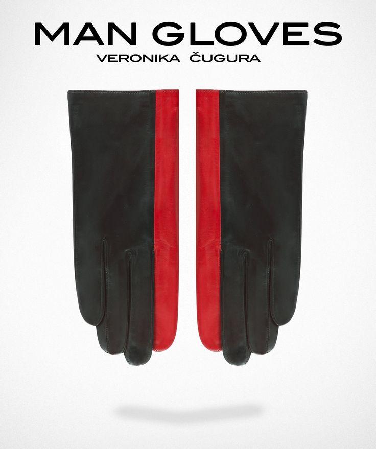 Man Gloves N°5 Red