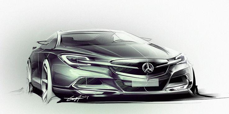 Mercedes Benz quick renders on Behance