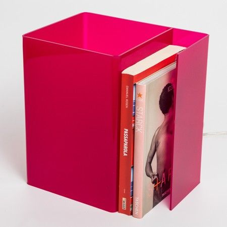 Acrylic Bedside lamp - Booklight #plexiglass #acrylic # ...