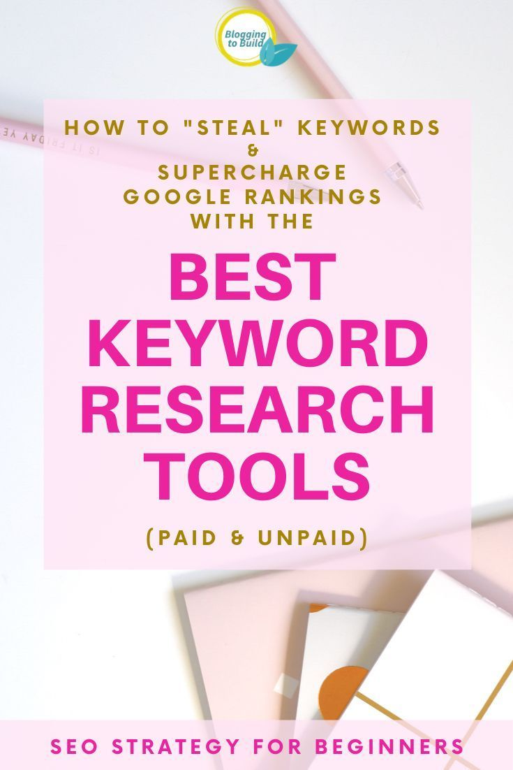 Best Keyword Research Tools For New Bloggers In 2020 Keyword Planner Google Ranking Website Traffic