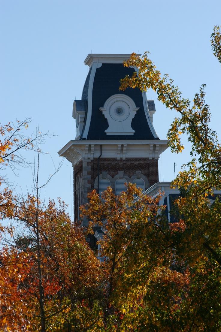 Old Main, University of Arkansas, Fayetteville, Arkansas