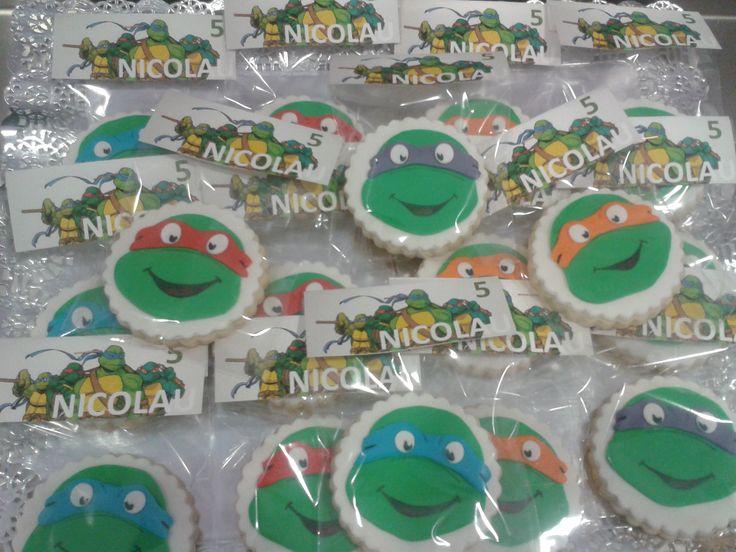Galletas Tortugas Ninja