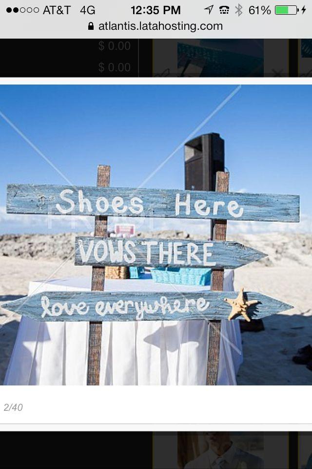 Beach Sign