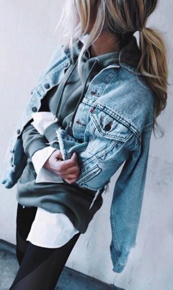 denim jacket.