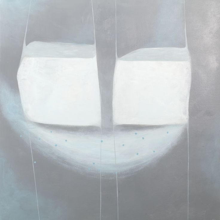 'Subtiel evenwicht', 115 x 115 cm,  acryl op linnen, 950,00 euro