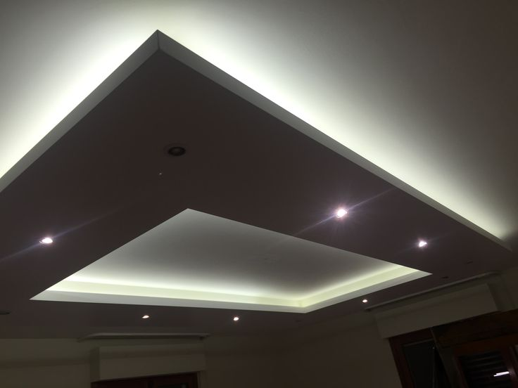 Abbassamento in cartongesso con faretti led wo67 for Led controsoffitto