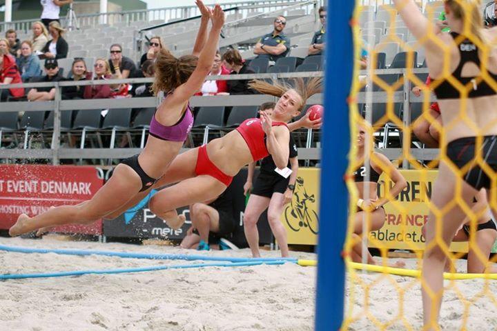 Wait... beach handball!?!