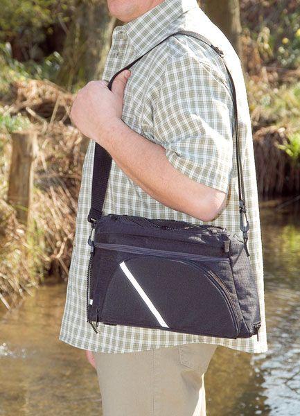 Fahrrad Gepäckträgertasche, multifunktionell aus Polyester