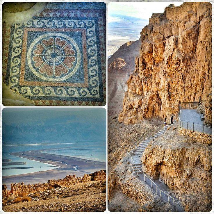 Масада и Мертвое море #masada #israel #travel