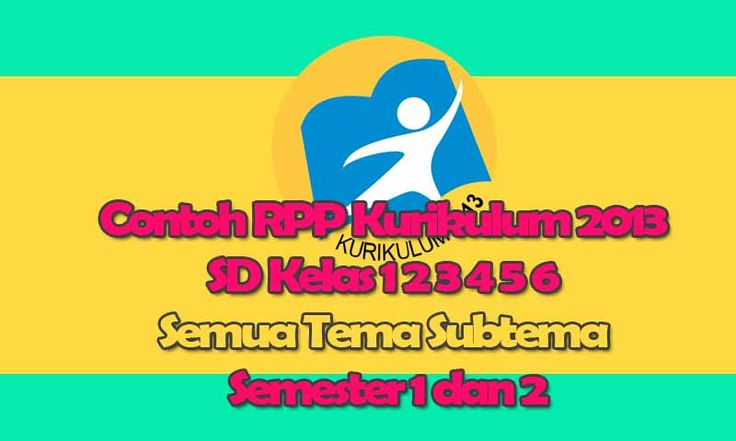 Contoh RPP Kurikulum 2013 SD Kelas 1 2 3 4 5 6 Semua Tema Subtema Semester 1 dan 2