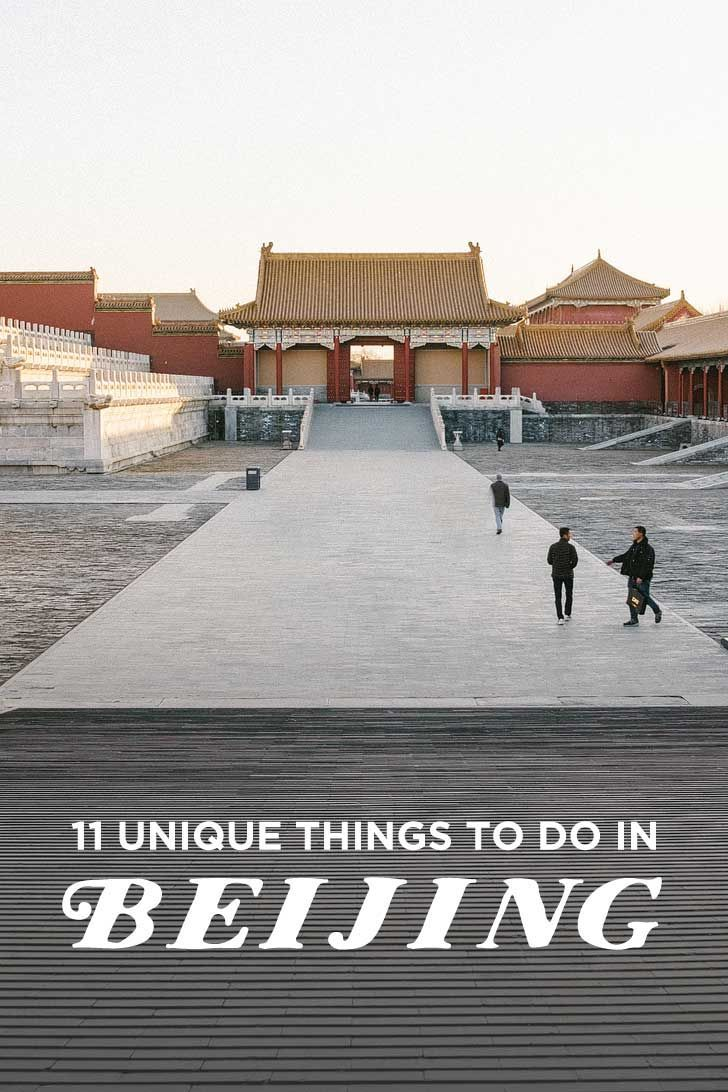 11 Unique Things to Do in Beijing China // http://localadventurer.com