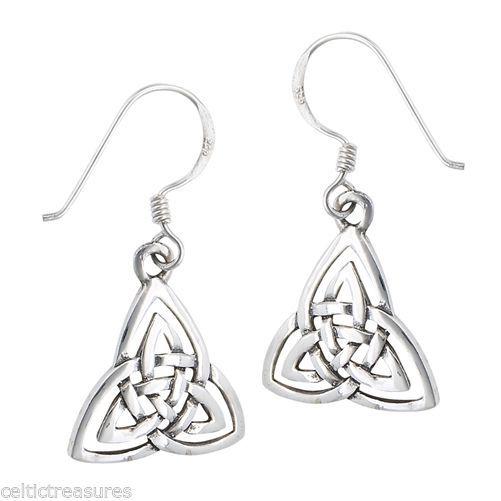Earrings 98484 Sterling Silver Irish Celtic Trinity Knot It Now Only 14 99 On Ebay
