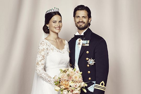 kungahuset.se:  Wedding of Prince Carl Philip of Sweden and Sofia Hellqvist, June 13, 2015-Official Wedding Photo of Prince Carl Philip and Princess Sofia of Sweden, Duke and Duchess of Värmland