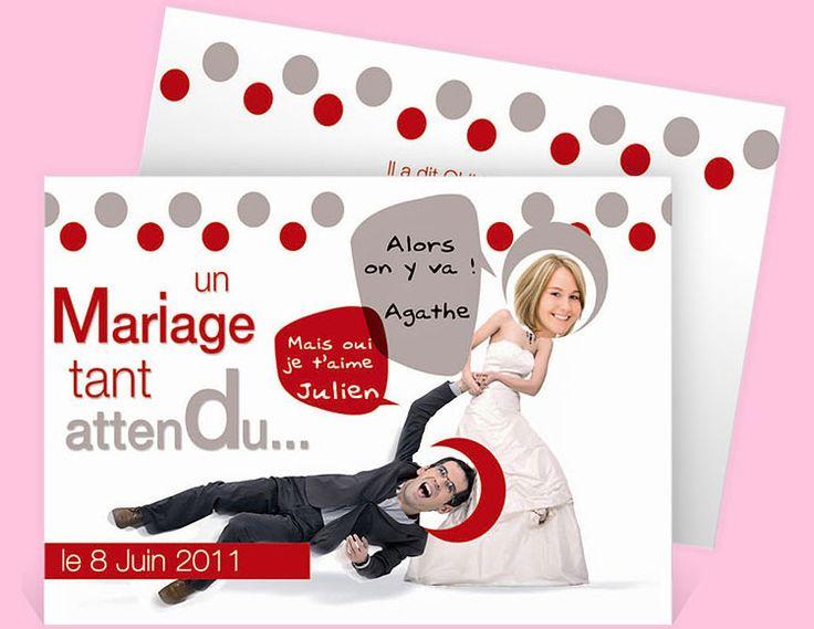 Faire-part mariage réf.N11107