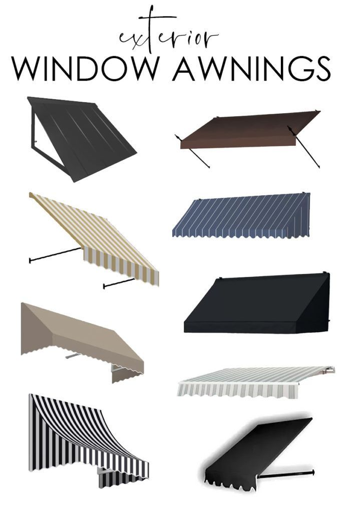 Exterior Window Awnings And Viable Alternatives Cafe Interior Design Windows Exterior Window Awnings