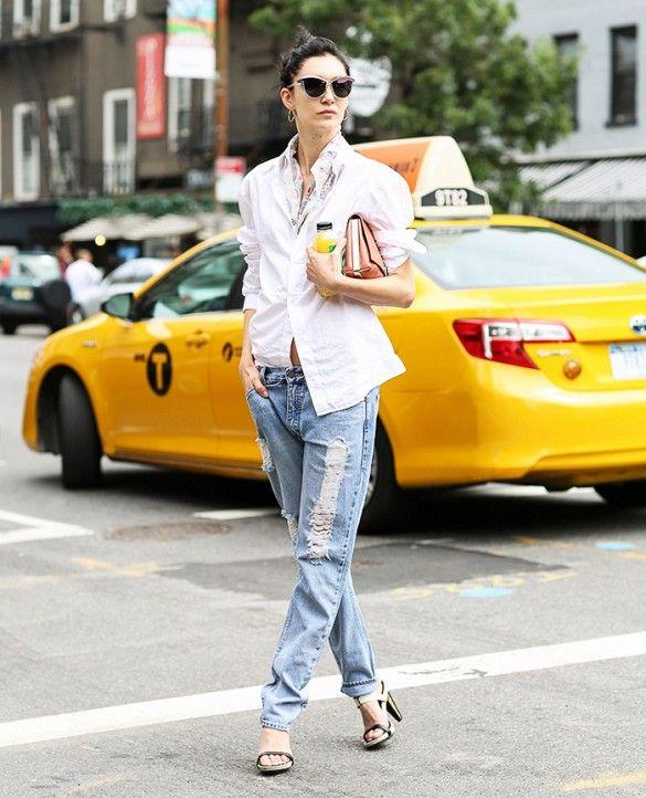 Baixo crescimento afligido Jeans