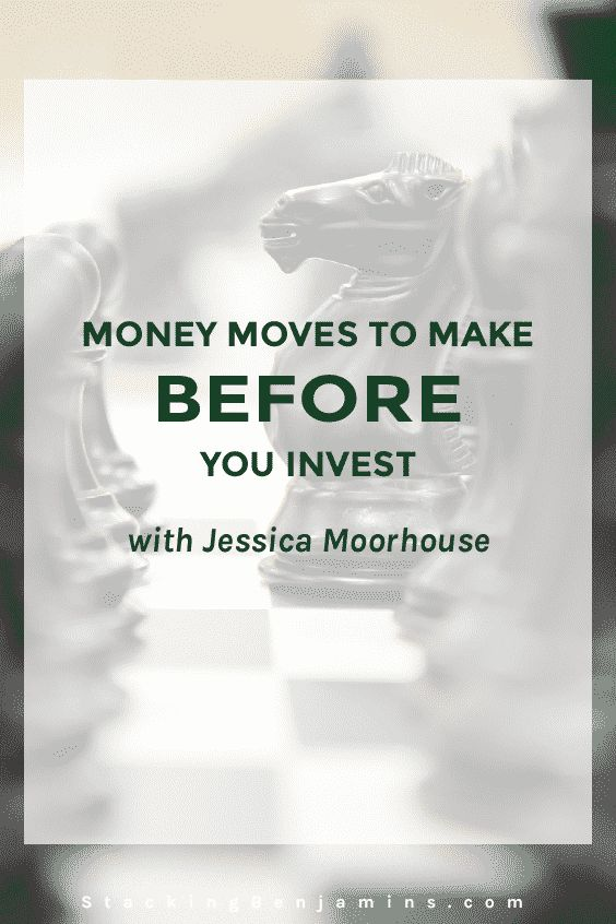 Jessica Moorhouse joins Paula Pant and Joe in the basement to discuss the money moves you should make before you invest. Listen to their perspectives.
