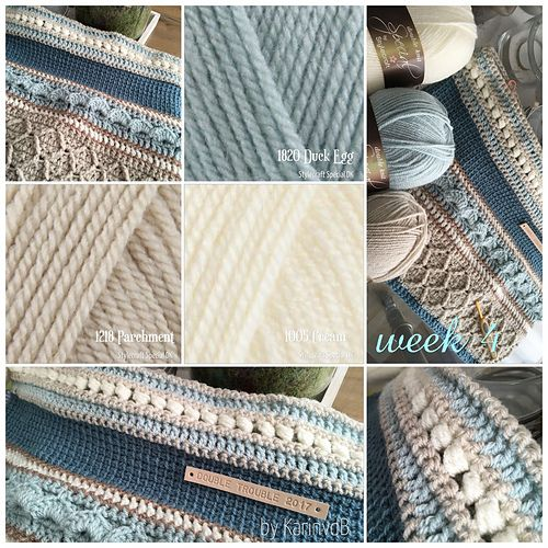 Ravelry: KarinvdB's Double Trouble: home colors edition