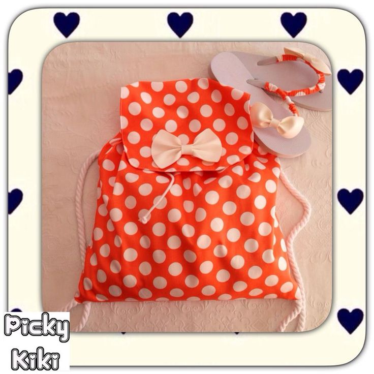 """""""Lolipop"""" Bag & Flip Flops 