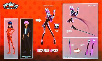 Troublemaker | Miraculous Ladybug Wiki | FANDOM powered by Wikia