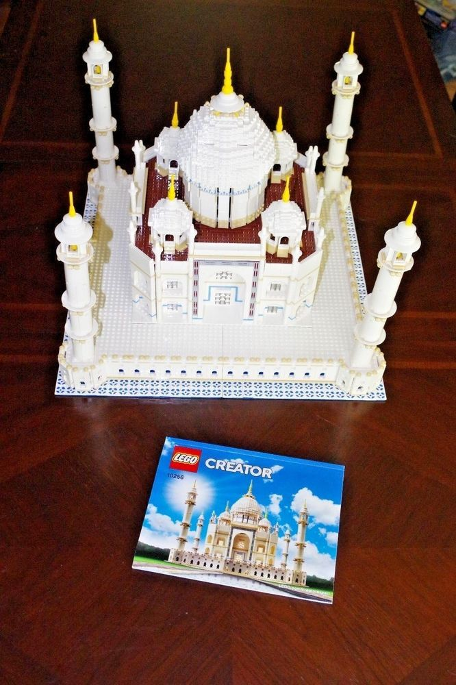 Lego 10256 Creator Expert Taj Mahal Building Set Complete W