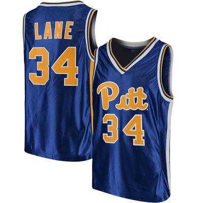 Jerome Lane Pitt Panthers Original Retro Brand Throwback Basketball Jersey - Royal