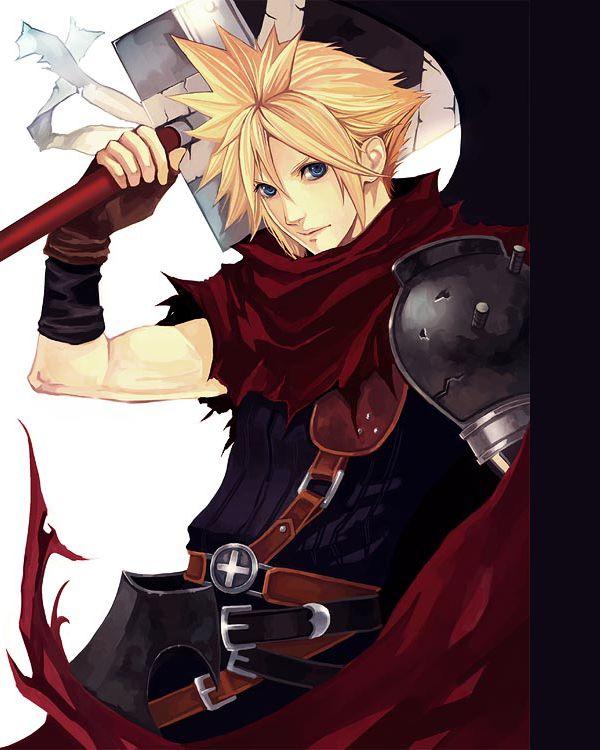 Cloud, Kingdom Hearts