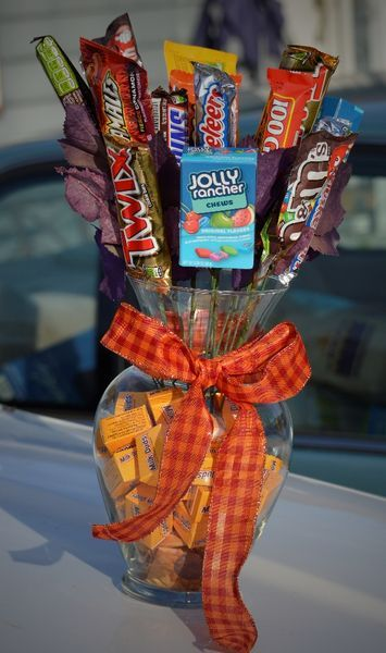 280 Best Images About Candy Bouquet Ideas On Pinterest Valentines Candy Bar Bouquet And Image