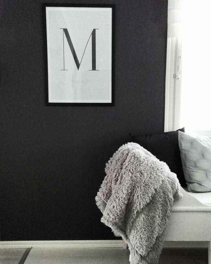 Desenio poster, diningroom, black and white